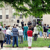 Prayer: About 100 people gathered on the lawn of Terre Haute City Hall Thursday afternoon for recognition of the National Day of Prayer.