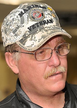 Patriot Guard Riders Ride Captain Keith Jacks, 51, of Clinton.