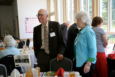 A reunion of individuals who attended Gardner-Webb as it was still a Jr. College; May 30, 2009.
