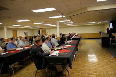 Divinity event with guest speakers in Ritch Banquet Hall; May 26, 2009.