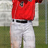 Two hands: Terre Haute South secondbaseman Ricky Wheatfill two-hands a pop fly.