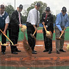 Shovel ready: A ceremonial ground breaking was held Friday night before the ISU-EU baseball game. After this season an new facility, named Bob Warn Field will be built.