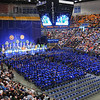 Beginnings: Hulman Center was nearly filled for Indiana State University's Commencement ceremony Saturday afternoon.