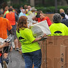 Organized: TREES Inc. hosted another eScrap Super Saturday event on the ISU campus yesterday. Volunteers from several different organizations took part in keeping the discarded electronics from area landfills.