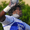 Let it fly: ISUs Brandon Pounds won the shot put with a throw of 57'2'.