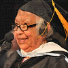 Honored: Marlene Echohawk(1953) gave the Commencement address at St. Mary-of-the-Woods Saturday afternoon.