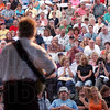 Hauteans love a concert: A large crowd of Gary Puckett fans watch him perform at Fairbanks Park Saturday, May 26, 2007.