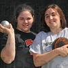 Sister act: Paris High School sisters LeAnn and Katy Spesard will compete at the Illinois State finals, LeAnn in the shot put, Katy in the discus.