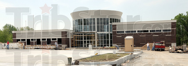 Welcome center: Construction continues on Margaret Avenue near the SR46/I-70 exchange.