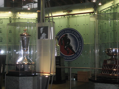 Hocky Hall of Fame in Toronto, Ontario, Canada
