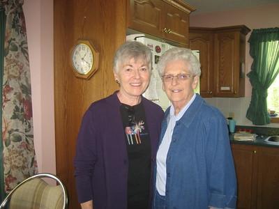 Mary Bardawill, Patsy Brophy, Clare, Mary in Everett, Ontario, Canada