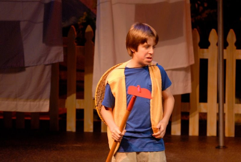 "Jacob in ""Seagirl"" , Charlotte Children's Theater"