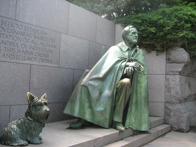 Franklin Roosevelt Memorial: May 2009 Trip to Georgetown DC