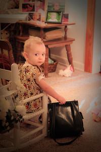 Hannah's purse