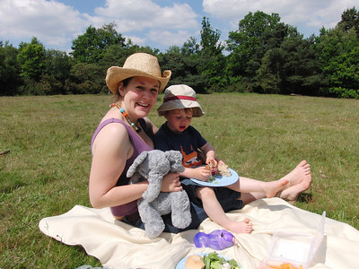 Picnic at Keston Ponds