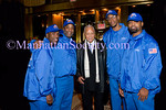 "NEW YORK-OCTOBER 29: Former New York City Mayor David N. Dinkins with ""the men in blue"" at THE DOE FUND's ""What New York Needs"" Annual Fundraising Gala Celebrating Harriet & George McDonald's 25 Years of Service on Thursday, October 29, 2009 at Cipriani 42nd Street, 110 East 42nd Street, New York City, NY. (Photo Credit: ©Manhattan Society.com 2009 by Christopher London)"