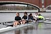 Girls third varsity  off the dock
