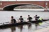 Boys second varsity off the dock