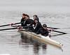Girls second varsity returning to the boathouse