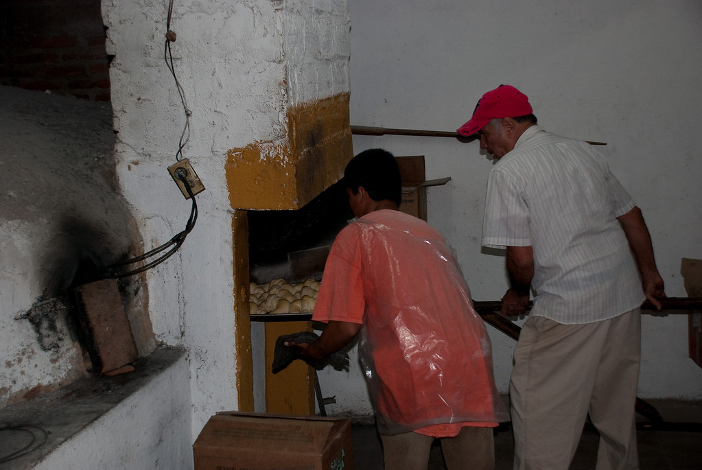 Small-town Mexican bakery.  It's output was GOOD...