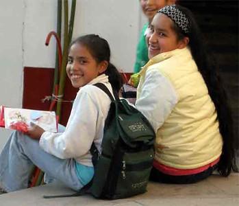Angangeo Schoolgirls - Pam Heller