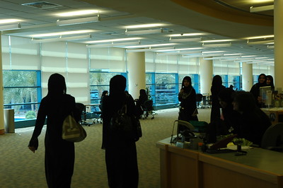 Library at Zayed Women's University - Leslie Rowley