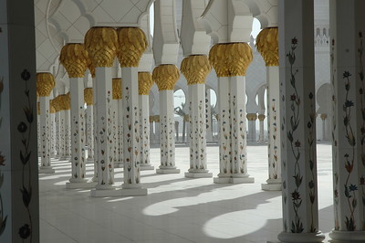 Grand Mosque, Abu Dhabi - Leslie Rowley