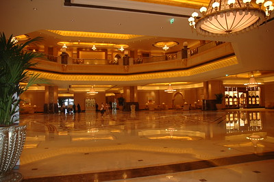 Emirates Palace Hotel, Abu Dhabi - Leslie Rowley