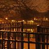 Loring Park bei Nacht - um die Ecke von meiner Wohnung