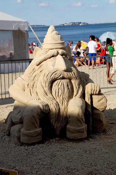 Revere Beach Sand Sculpture Festival 2009
