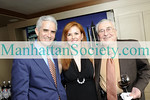 NEW YORK-JUNE 23: Chip Fisher, Lorraine Cancro, Dr. Robert Cancro attend Reception In Celebration of Research Collaboration between ICAMI and Fisher Wallace Laboratories on Tuesday, June 22, 2009 at Perdue Residence, 5th Avenue at 61st Street, New York City, NY (Photo Credit: ManhattanSociety.com by Christopher London)
