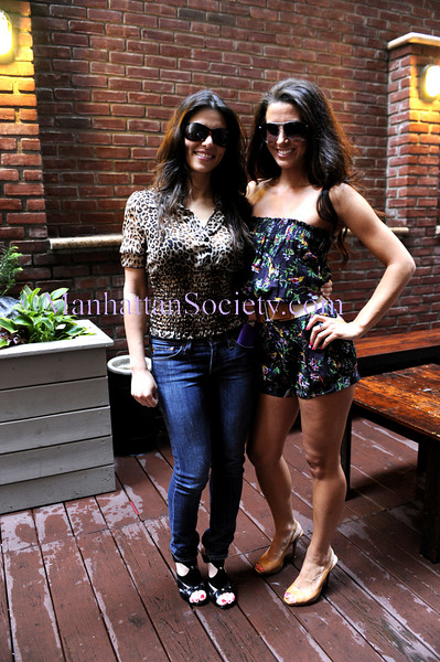 NEW YORK-JULY 2: Valeria Tignini, Elizabeth Yannone attend Mongolian Sunglass Extravaganza hosted by ValSecrets.com on Thursday, July 2, 2009 at Red Sky Lounge, 47 E 29th Street, New York, NY (Photo Credit: ManhattanSociety.com by Christopher London)
