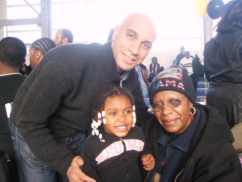 Mayor Adrian Fenty, Tenia & Grandma