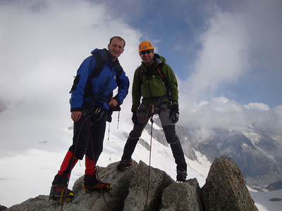 Petite Verte  summit AmcC & AK