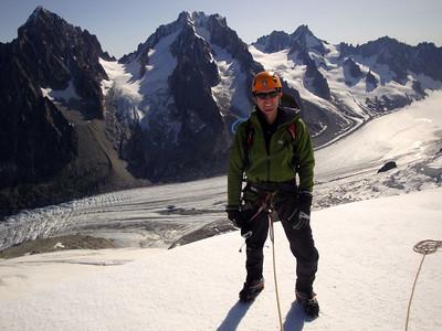 Argentiere Glacier & AK