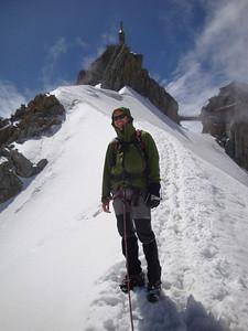 Aiguille du Midi ridge AK 1
