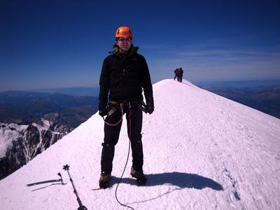 Mt Blanc summit  AK W