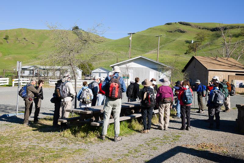 Mt. Diablo Macedo Ranch entrance