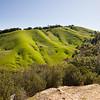 Crisscrossed hills