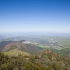 North view from Mt. Diablo
