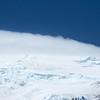 The summit ice cap