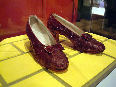 The Ruby Slippers from The Wizard of Oz