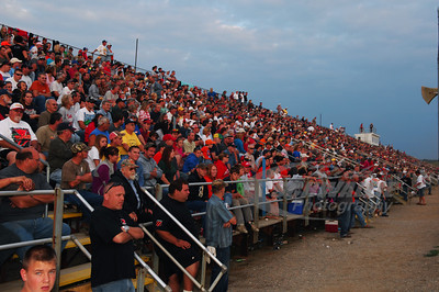 A packed house @ Muskingum County Speedway