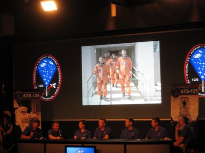 The crew narrates a 20-minute recap video of their mission