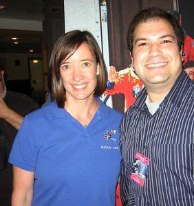 Craig with STS-125 Mission Specialist 3 Megan McArthur