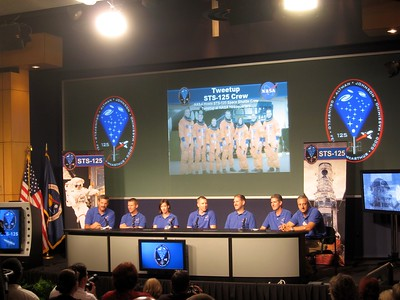 The crew provides an overview of their mission