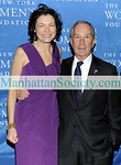 "NEW YORK-OCTOBER 14:  Diana Taylor, Mayor Michael Bloomberg attend The New York Women's Foundation 2009 Fall Dinner: ""Stepping Out & Stepping Up"" on Wednesday, October 14, 2009 at  Gotham Hall, 1356 Broadway, New York City, NY (Photo Credit: ©Manhattan Society.com 2009 by Christopher London)"