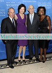 "NEW YORK-OCTOBER 14: Mayor Michael Bloomberg, Diana Taylor, Herbert Sturz, Deborah Roberts attend The New York Women's Foundation 2009 Fall Dinner: ""Stepping Out & Stepping Up"" on Wednesday, October 14, 2009 at  Gotham Hall, 1356 Broadway, New York City, NY (Photo Credit: ©Manhattan Society.com 2009 by Christopher London)"