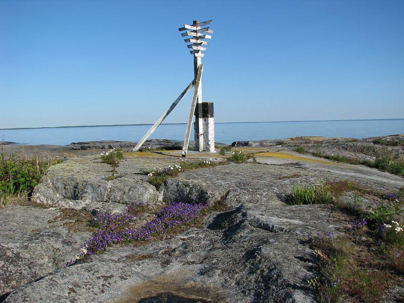 Sjömärke på Håkanskär