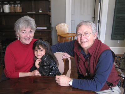 Sissy and Granny Franny (DoDy) with Papa Ben